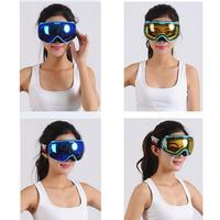 For PROPRO Double Lens Detachable Anti fog and Windproof Warm Ski Goggles Snow Mirror