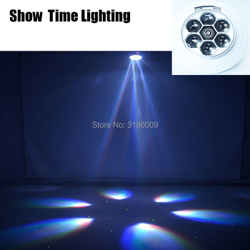 SHOW TIME led bee beam laser DJ 6X12W RGBW Bee Eye Moving Head with laser Mini Led Stage Lighting High Bright and quality can charge mini both head energy saving originality led to beam the lantern show meeting wireless move downlights lo463
