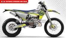 KUNGFU GRAPHICS Custom Decals Stickers Vehicle Wraps for Husqvarna TE FE TC FC TX FX 125 250 300 350 450 501 2016 2017 2018 2019