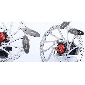 MTB Disc Brake Pads Adjusting Tool Bicycle Pads Mounting Assistant  Brake Pads Rotor Alignment Tools Spacer Bike Repair Kit 10