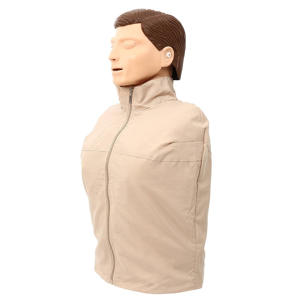 Mannequin de formation en rcr 70x22x34 cm buste Mannequin de formation en soins infirmiers professionnels modèle médical modèle de formation en premiers soins humains nouveau - 3