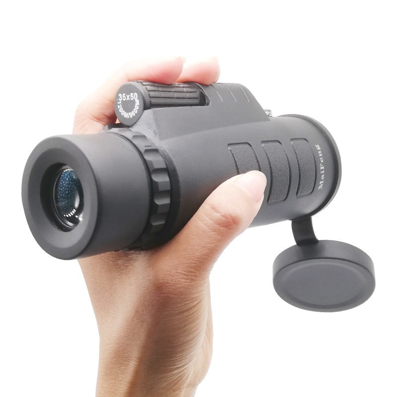 Monocular Telescope Pocket No-Tripod Optical Hunting Outdoor Camping-W/compass New 35x50