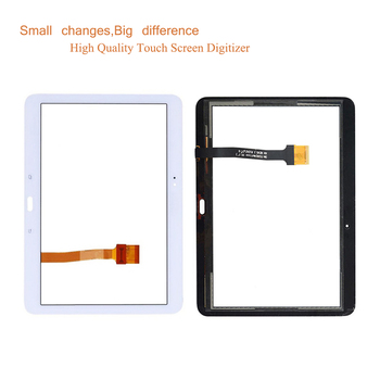 10Pcs/lot For Samsung Galaxy Tab 4 10.1 SM-T530 T530 SM-T531 T531 T535 Touch Screen Digitizer Panel Sensor Touchscreen No LCD 1