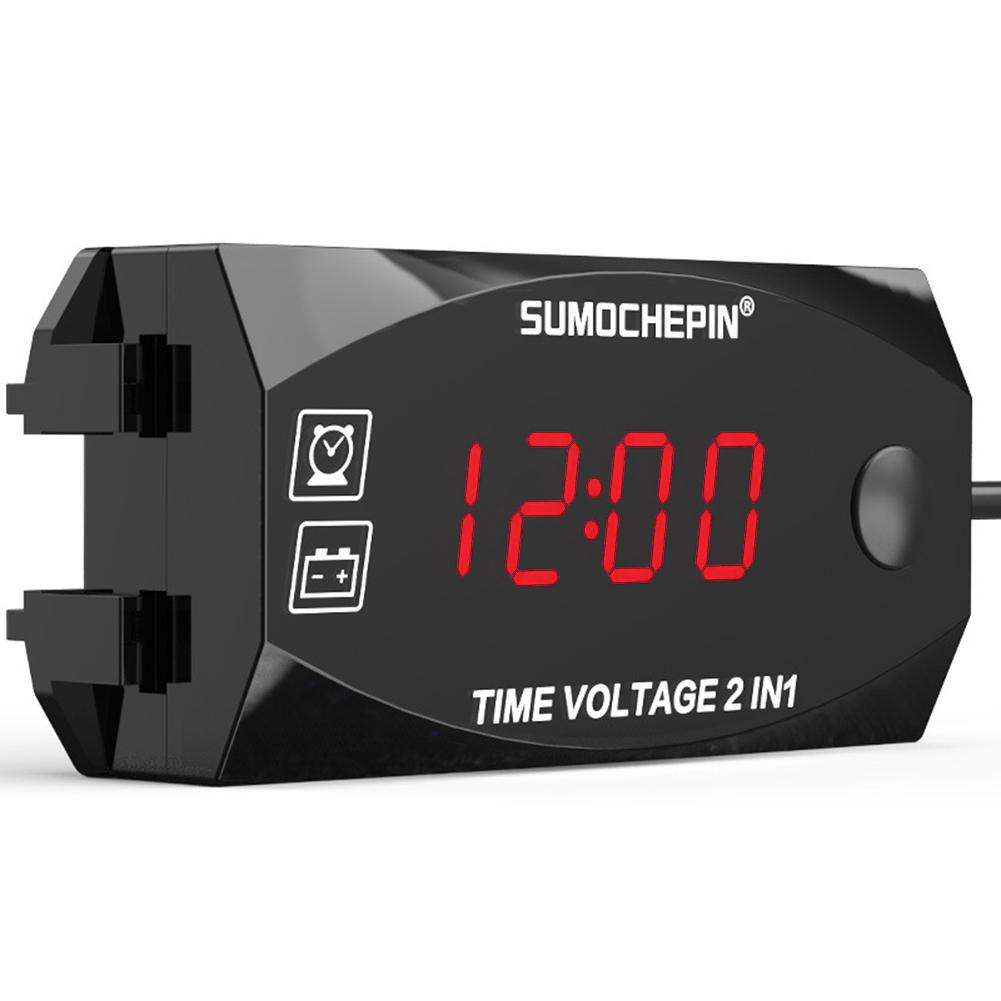 HOT SALE] Samdo 85mm 3000 RPM Tachometer Gauge With Hour Meter For