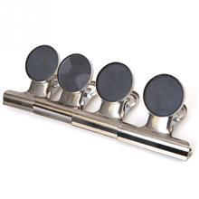 Schreibtisch Zubehör & Organizer Großhandel 5 Stücke Kühlschrank Kühlschrank Memo Hinweis Nachricht Wand Magnetischen Metall Clips Halter Magnetfuß