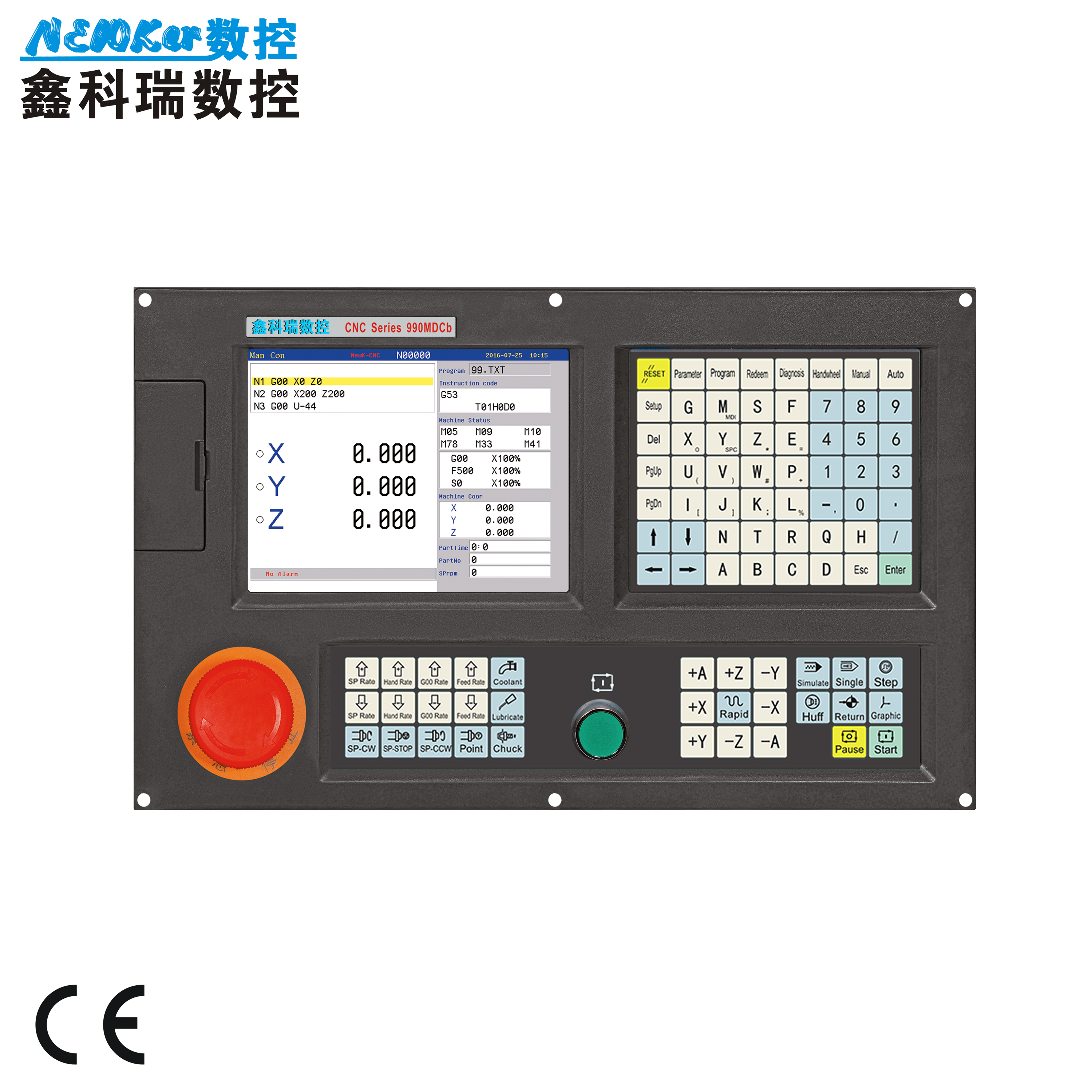 Aliexpress com : Buy Mini type CNC Controller NEW990MDCa 3 Axis for