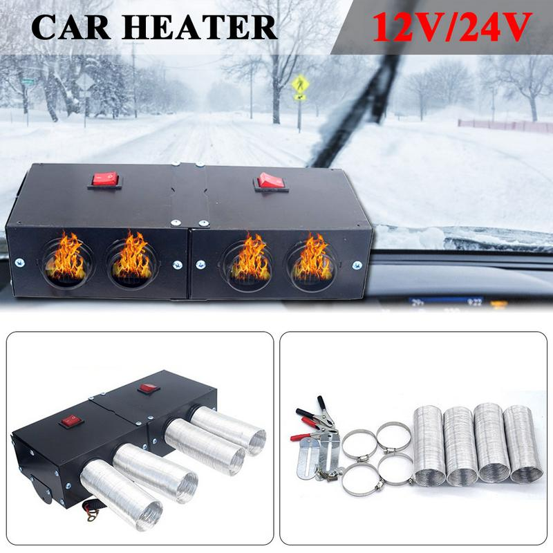 Heating & Fans Dc 12-24 V 800w Four Hole Power Switch Button Air Diesels Heater Uniform Fast Car Fan Heater For Universal Car Vehicle Truck Car Electronics