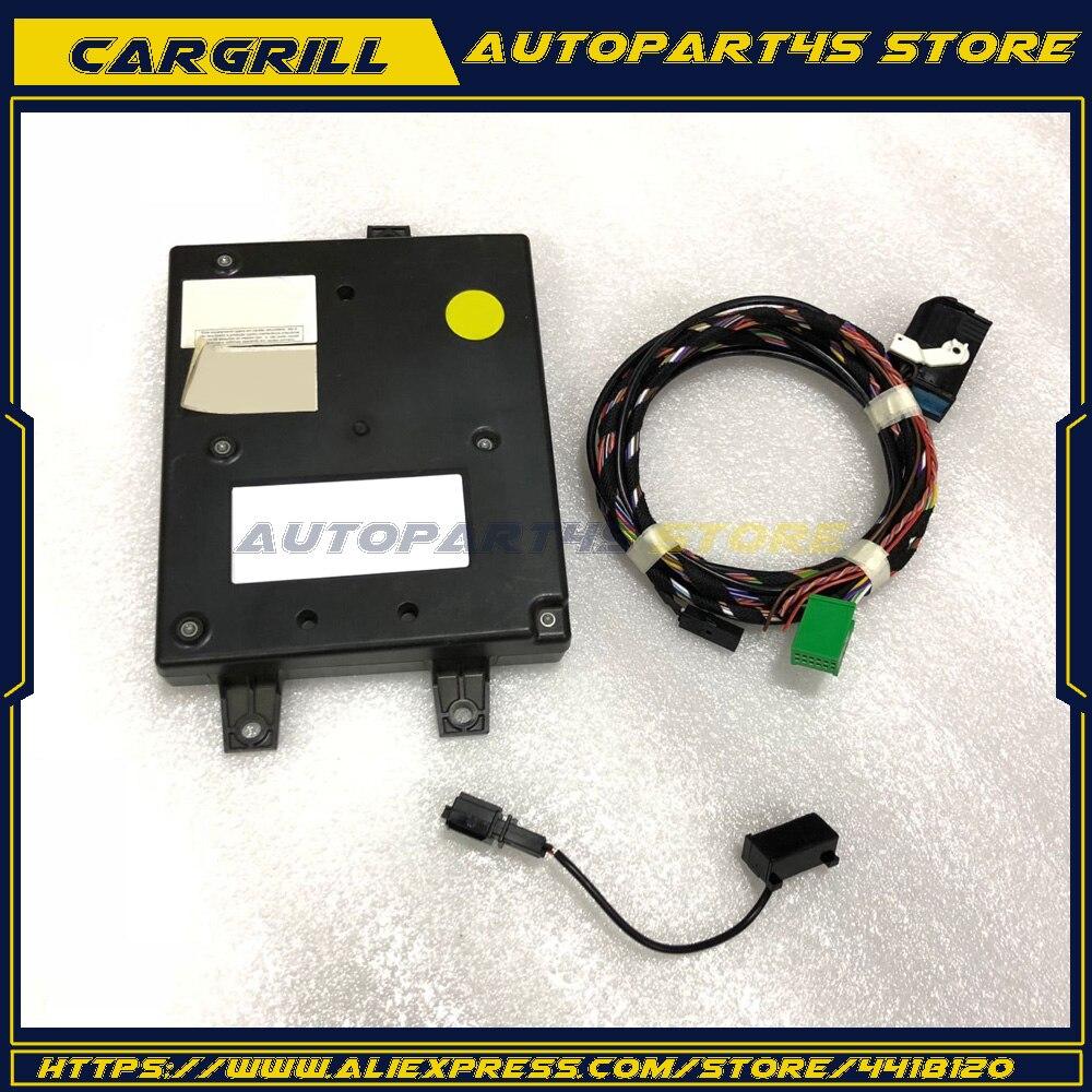 1K8 035 730 D 9W2 RCD510 Car Radio Bluetooth Module & Microphone Harness Cable Kit For VW Golf Mk6 Passat Tiguan 1K8035730