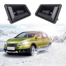 Professionale 2 pz Interni Nero Porta Maniglia Anteriore Posteriore Sinistra Destra Driver Lato Passeggero Per Suzuki Auto Accessori