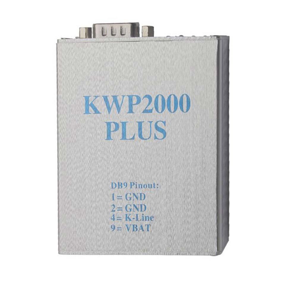 KWP2000 Plus Scanner de Diagnostic | Outil de réglage des puces KWP 2000 ECU Plus, décodage obd2 intelligent