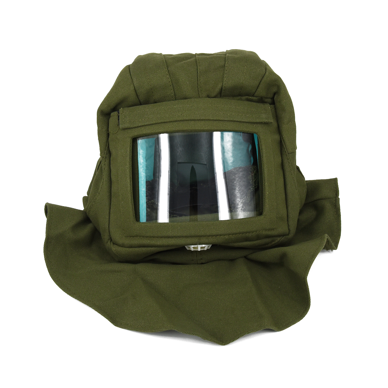 2019 Air Humidifier Safety Electric Sandblast Welding Masks Helmet Sandblasting Helmet Hood Protector + Cloak