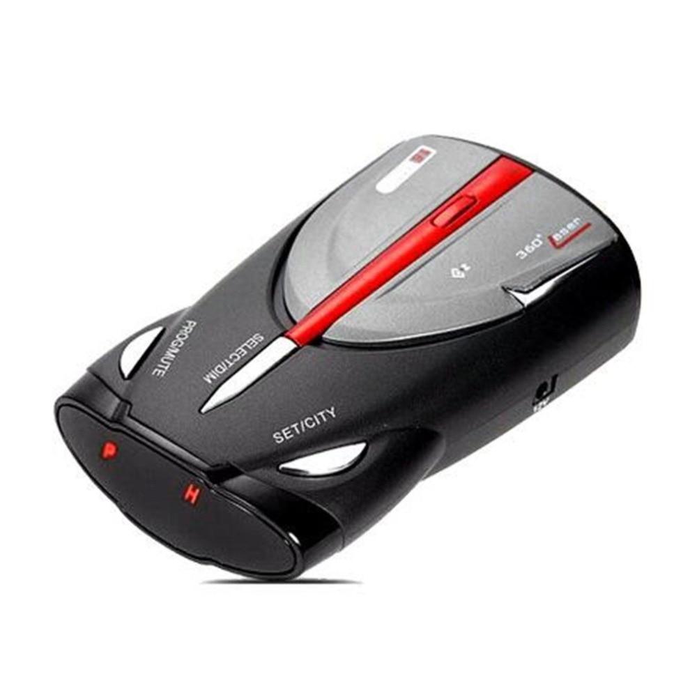 12V 16-Band 360° Car Speed Laser Voice Alert Radar Detector Cobra XRS 9880