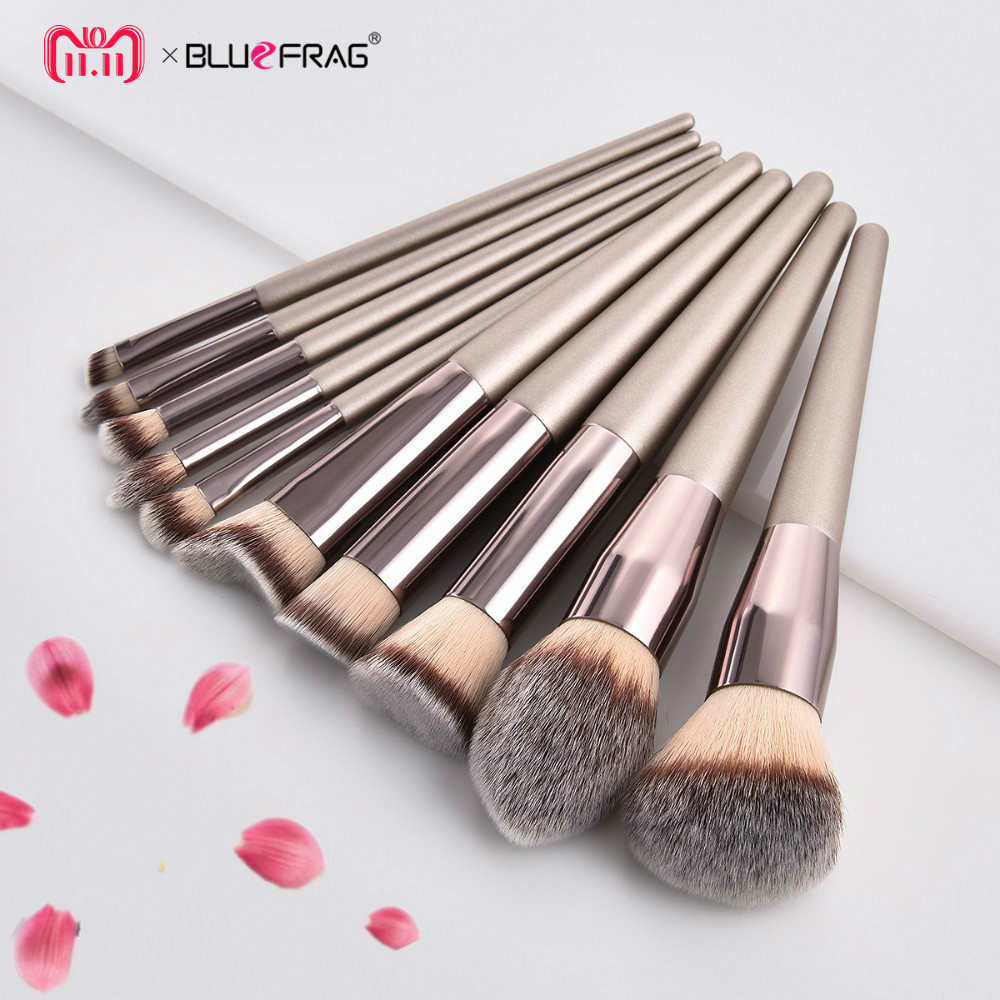 2018 Makeup Brush Set Foundation Brush Eyeshadow Eye Powder Eyebrow Eyeliner Lip Makeup Brushes Cosmetic Beauty Tools 10/6/5/4/2 brushes natural 1pcs eyebrow foundation eyeshadow brush set 7 makeup case brushes soft wooden makeup holder cosmetic makeup hair