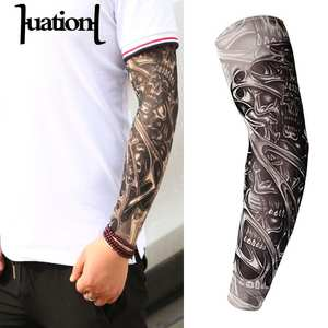Arm-Warmer Tattoo Mangas Uv-Protection Fake Temporary Unisex Outdoor New-Fashion