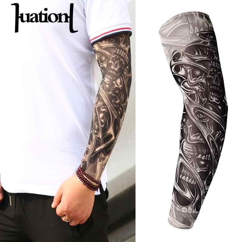 Huation Nowa Moda Rękawy Tatuaże Ramię Cieplej Unisex