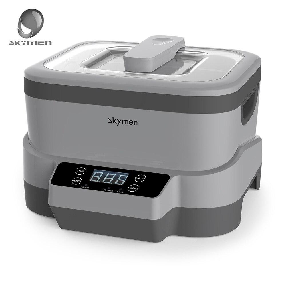 SKYMEN 1.2L В 240-110 в цифровой ультразвуковой очиститель ультразвуковая ванна Чистящая машина стерилизатор очиститель Стерилизация Дезинфекция