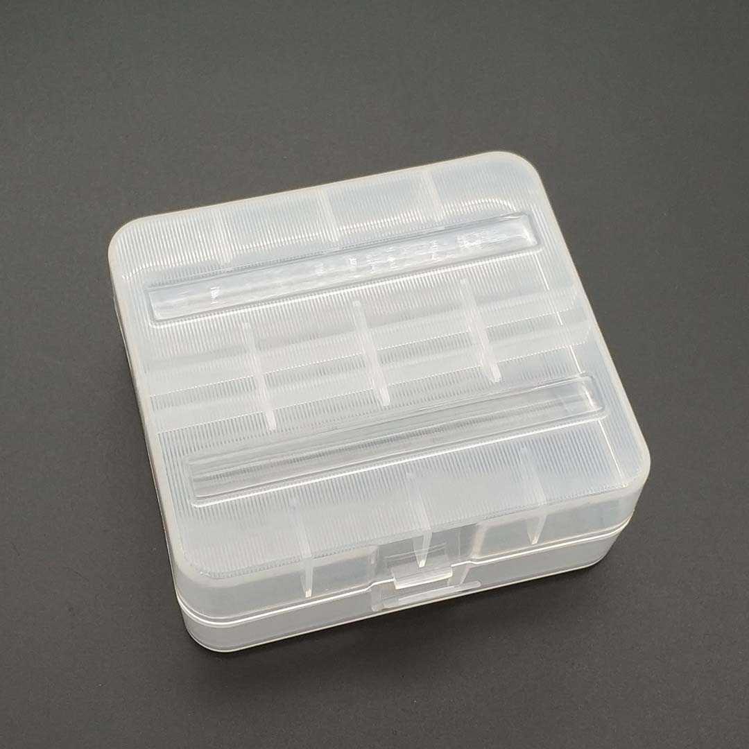 Praktische PVC Batterie Lagerung Box Batterie Halter Fall Geeignet Für 2 stücke 26650 Batterien Halten Batterien Sicher