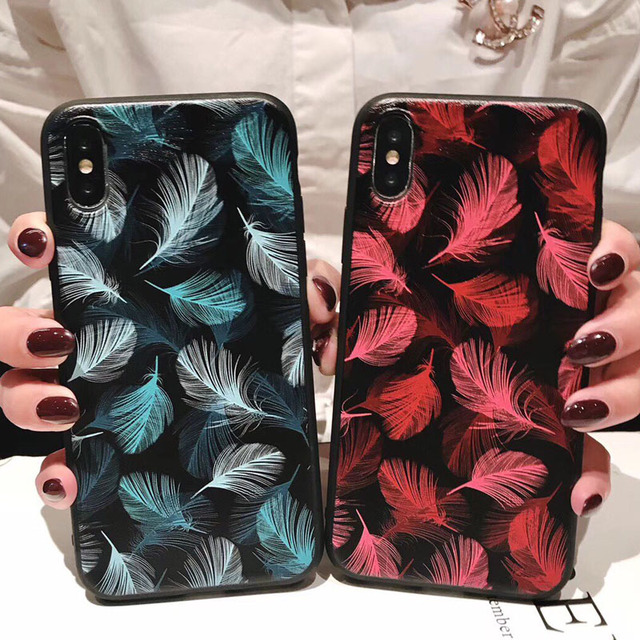 3D Emboss Flower Phone Case For iPhone 11 X XR Xs Max 8 Plus 11 Pro Max 7 6 6S Plus