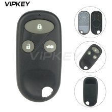 Remotekey Car Style Remote Key Fob Shell 3 Buttons for Honda Civic CRV Accord Jazz Fit Odyssey Keyless Entry Case replacement 4 buttons auto keyless entry remote car key shell case fob for buick pontiac g5 g6 chevrolet rubber pad replacement car covers