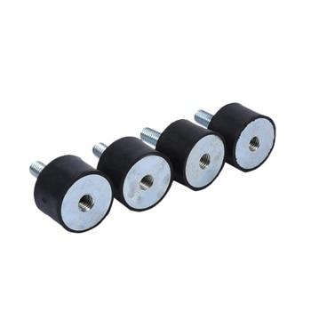Bloque silencioso Anti-vibración del amortiguador de 4 piezas para el coche, M8