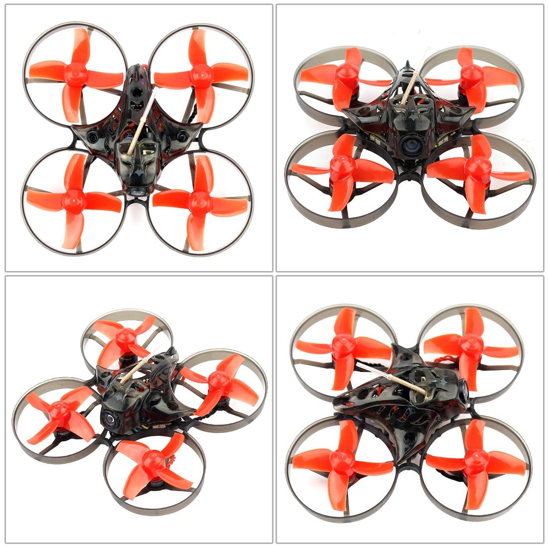Drone de course Mobula 7 75mm crazy ybee F3 Pro OSD 2 S BWhoop FPV avec caméra 700TVL BNF avec hélice supplémentaire de 10 paires