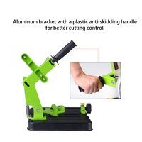 Multifunctional Metalworking Power Tool Accessories DIY Aluminum Bracket Iron Base Angle Grinder Holder Support BG 6180
