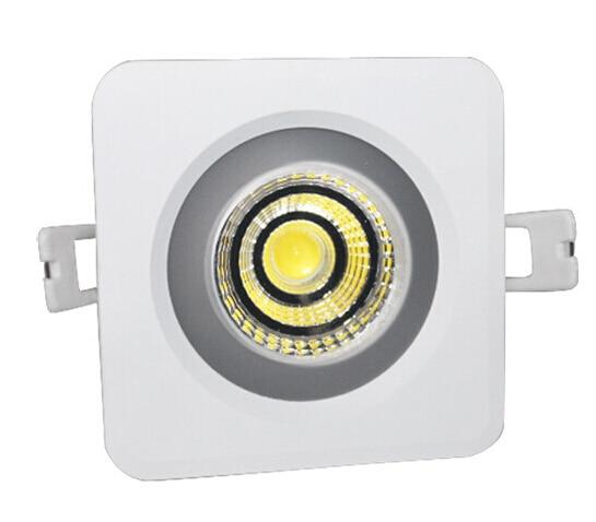 Vízálló IP65 12W / 15W négyzet alakú COB led tolatóvilágítás - Beltéri világítás