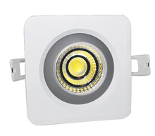 Waterproof IP65 12W/15W Square COB led cob downlight Recessed down light AC85-265V Free Shipping