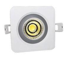 Waterproof IP65 12W/15W Square COB led cob downlight Recessed cob led down light AC85-265V Free Shipping