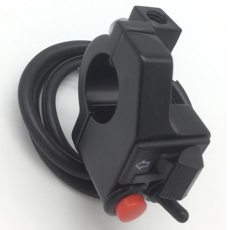 professional plastico preto modificado tres funcao esquerda farois 04