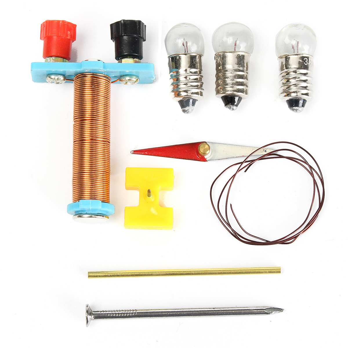Physics Experiments Electricity Learn Test Electromagnetic Equipment Diy Science Experiment For Student Children In From Office School