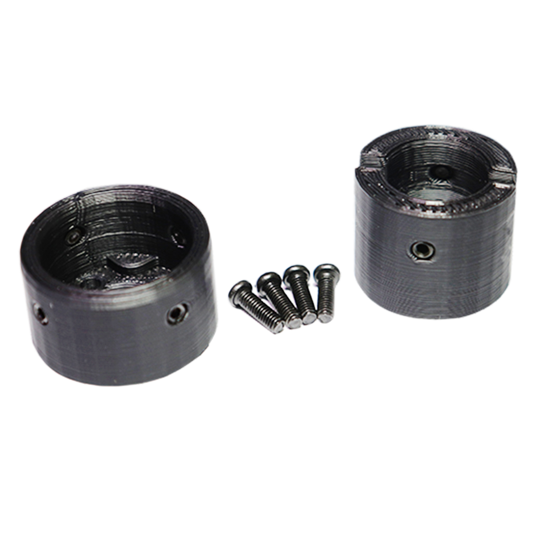 For SLR Receiver Gearbox Chamber With Casing Pipe Firm Module For Jingji SLR Gearbox Receiver Modification Upgrade - Black