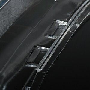 Image 4 - Pair Car Headlight Headlamp Waterproof Bright Clear Cover Lens For Volkswagen VW Passat B6 bi Xenon headlights R36