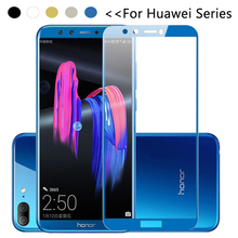Cristal en Honor 9 Lite 9 vidrio templado claro para Huawei P20 Plus Honor View 10 V10 V9 9i 8 Pro P8 P9 Lite 2017 honor9 luz glas