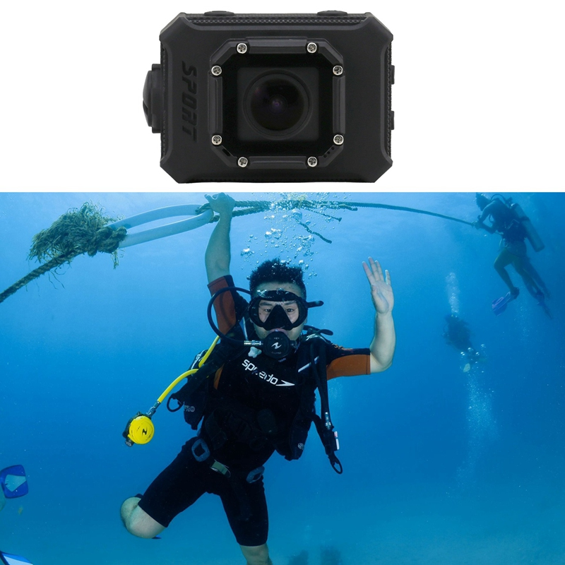Image 5 - Ultra Hd Camera Camera 2.0 Inch Sports Dv Bare Metal Waterproof Dv Underwater Camera Sport Camera-in 360° Video Camera from Consumer Electronics
