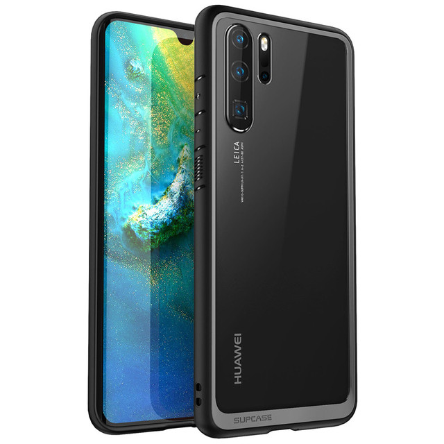 """SUPCASE For Huawei P30 Pro Case 6.47"""" (2019 Release) UB Style Anti knock Premium Hybrid Protective TPU Bumper + PC Clear Cover"""