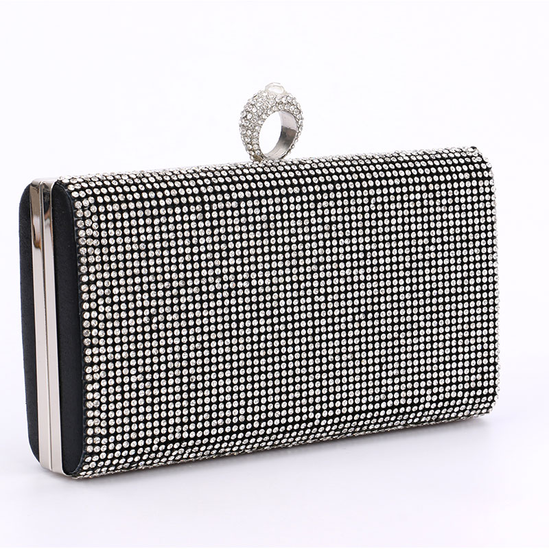 c9fbb83c5c73 Women Diamonds Rhinestone Clutches Crystal Day Clutch Wallet Wedding Purse  Party Banquet Evening Bag For Female