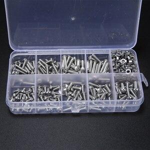 340pcs M3 A2 Hex Screw Kit Sta