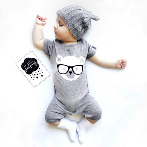 Pusdcoco Babys Clothes Cotton Cute Newborn Infant Baby Boy Girl   Romper   Jumpsuit Clothes Outfits 0-24M