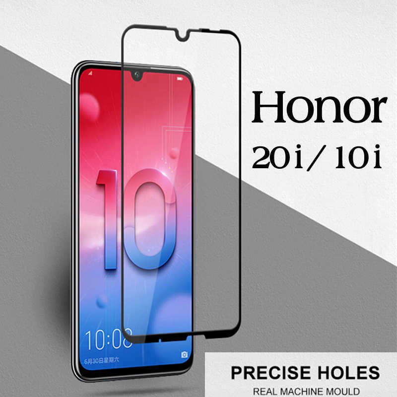 Tempered Glass For Huawei Honor 10i 8c Full Cover Film For Huawei Honor 20i Glass Honor10i Honor20 I Huavei 10i Screen Protector