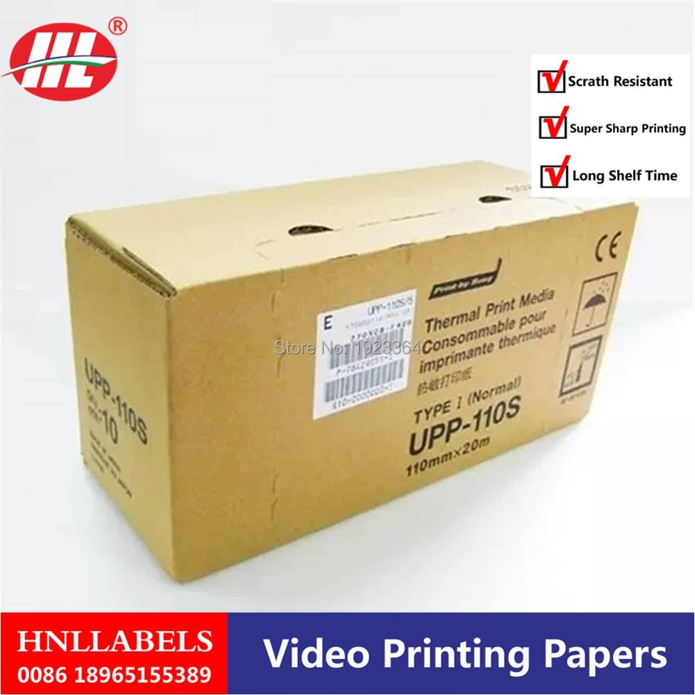 200X Rolls Ultrasound UPP 110S 110mm*20m B-recorder UPP-110S