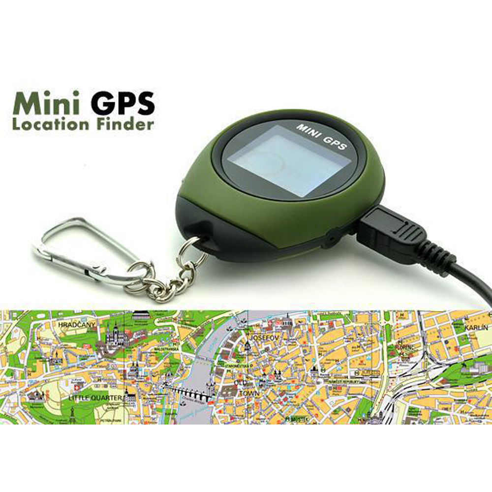KKMOON Locator Finder Receiver-Tracker Navigation GPRS Rechargeable GSM USB with Electronic-Compass