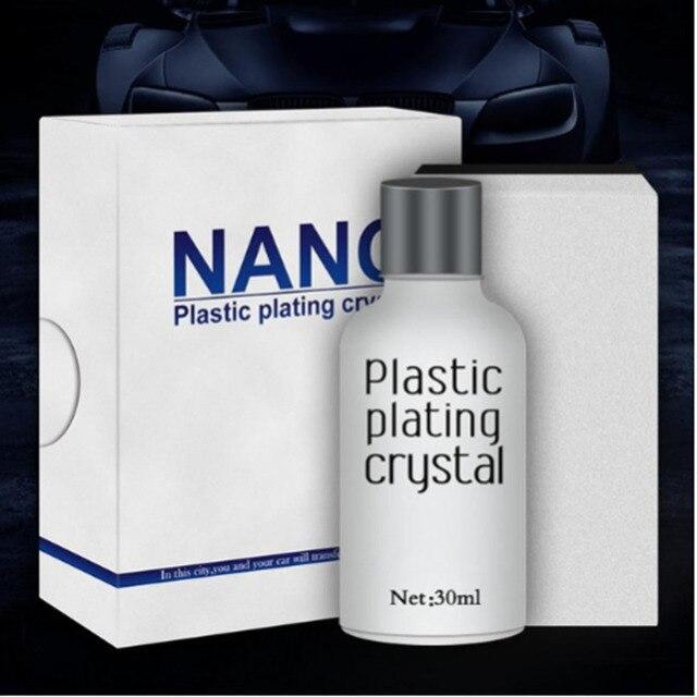 Car Plastic Plating Refurbishing Agent - Leather Care Maintenance Coating Polish