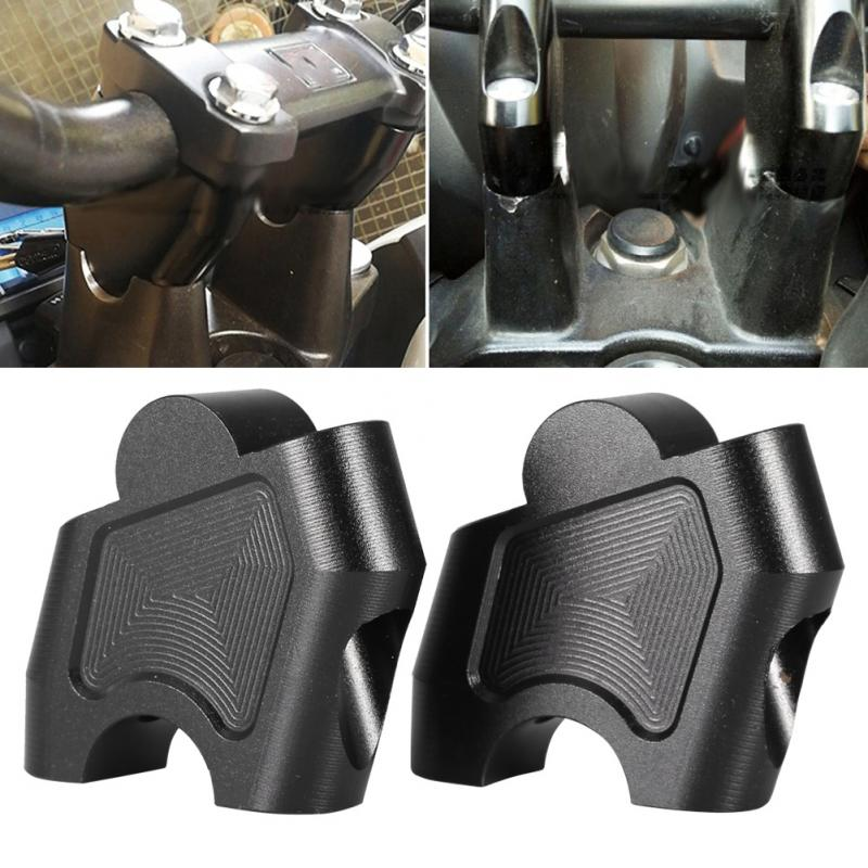 Motorcycle Handlebar Riser Adjustable Lifting Handlebar Clamp For Honda NC700X NC700S NC750X NC750S CB500F CB500 CNC Aluminum