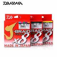 Najnowszy oryginalny DAIWA J-BRAID GRAND żyłka 135M 150M 300M 8 nici pleciony PE linia wędkarska TackleMade w japonii