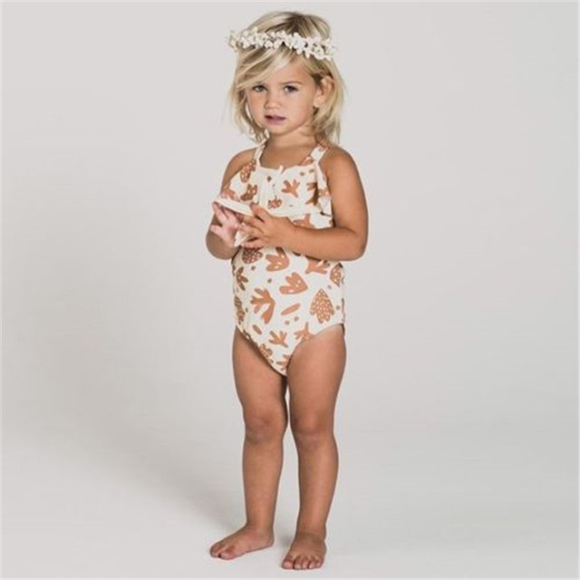 e280f6d455a Cute Baby Girls Swimsuit New Summer Beachwear Kids Child Swimwear Bodysuits Bathing  Suit Bikini Tankini Outfits Swimming Costume