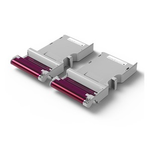 Image 2 - KODAK Juego de cartuchos de papel todo en uno C210, tecnología de impresión apalancamiento 4Pass 20 40 50 100, tinta para paquete de impresora fotográfica