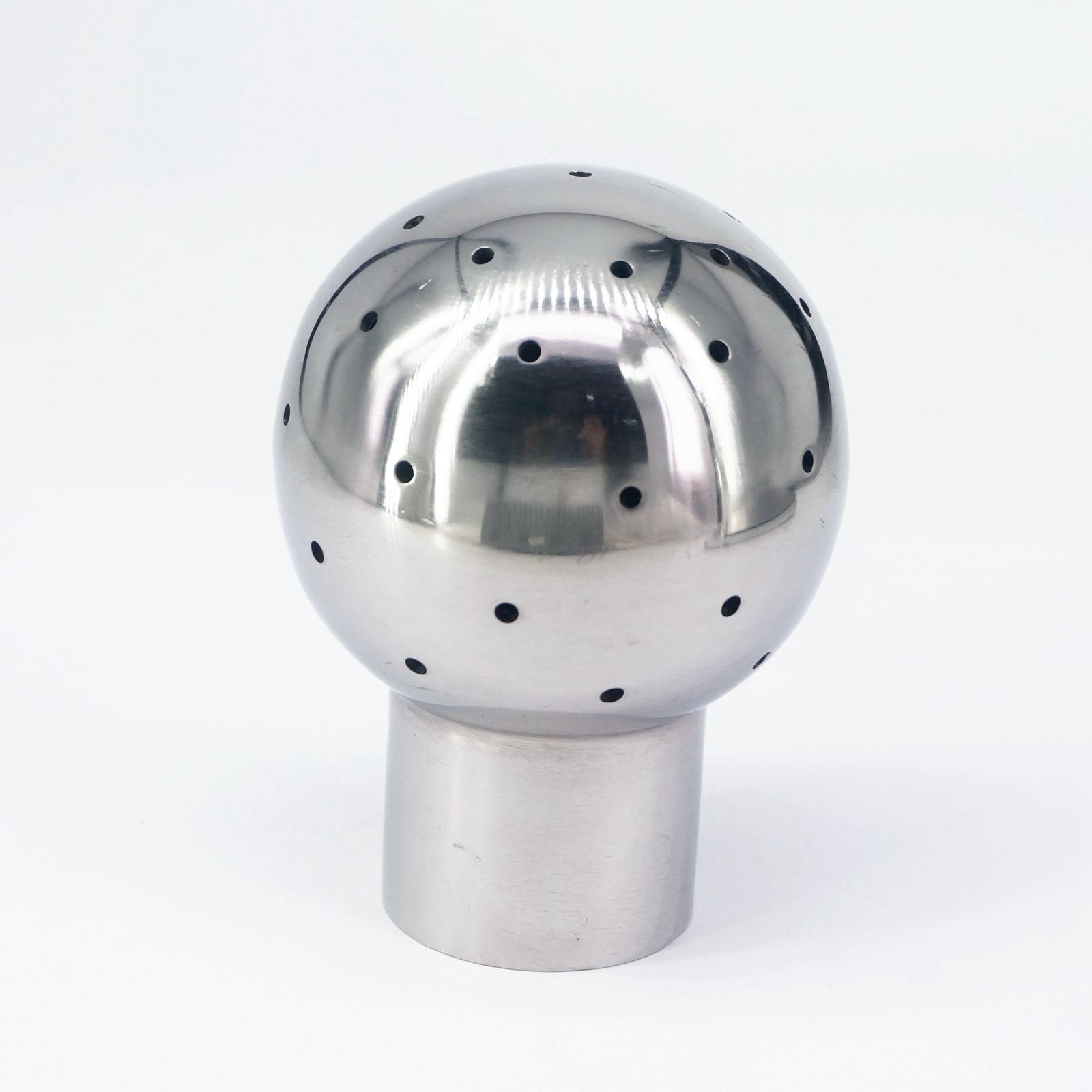 Romantisch 3/4 bsp Innengewinde 304 Edelstahl Sanitär Gewinde Fix Spray Ball Tank Reinigung Ball Hell In Farbe Rohre & Armaturen