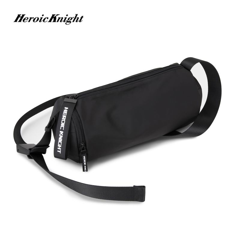 Heroic Knight Shoulder Bag Men's Korean Trend Messenger Bag Fashion Young Leisure Retro Casual Street Package Hot Selling Bags