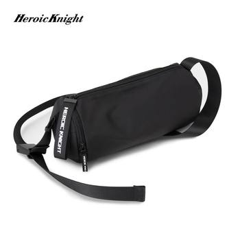 Heroic Knight Shoulder Bag Men's Korean Trend Messenger Bag Fashion Young Leisure Retro Casual Street Package Hot Selling Bags heroic knight shoulder bag men s korean trend messenger bag fashion young leisure retro casual street package hot selling bags